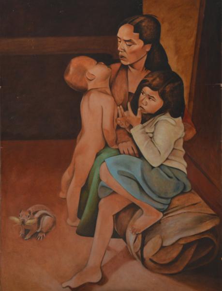 mother_holding_children