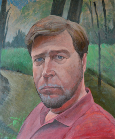 self-red-shirt-oil